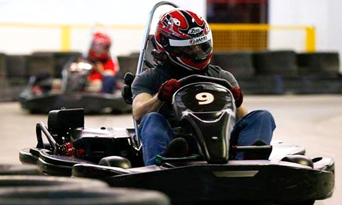 Grand Prix Karting - South Columbus: Two Adult Races for One with Head Sock and Optional Individual Membership at Grand Prix Karting (Up to 44% Off)
