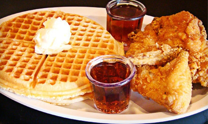 Chicago's Home of Chicken and Waffles III - Evanston: Fried Chicken, Seafood, and Soul Food at Chicago's Home of Chicken and Waffles III (Half Off). Two Options Available.