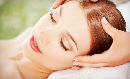 Aromatherapy Massage, Basic Facial, or Both at Skin Station Spa (Up to 70% Off)