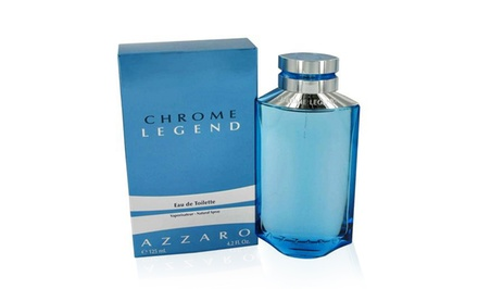 Azzaro Chrome Legend Eau de Toilette for Men; 4.2 Fl. Oz