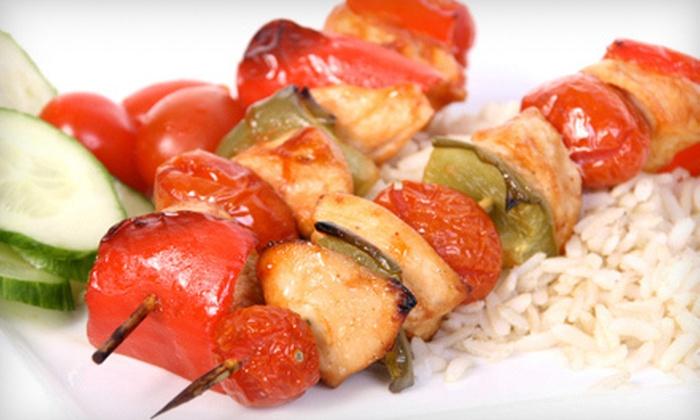 Shouf's Cafe - Bridgeville: $15 for $30 Worth of Lebanese Cuisine for Dinner at Shouf's Cafe