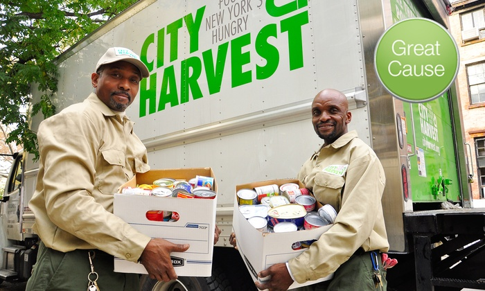 City Harvest: City Harvest  – $5, $10, or $20 Donation to Feed New Yorkers