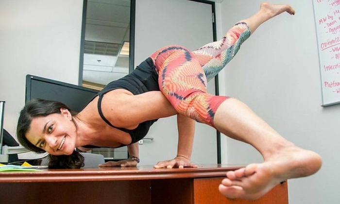 Office Yoga - Bayview: Two Yoga Classes at Office Yoga (70% Off)