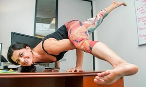 Office Yoga: Two Yoga Classes at Office Yoga (70% Off)