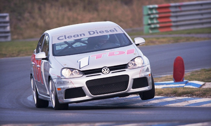 High Performance Driving School - Millville: $99 for a Four-Lap Ride-Along Racing Experience from High Performance Driving School in Millville ($199 Value)