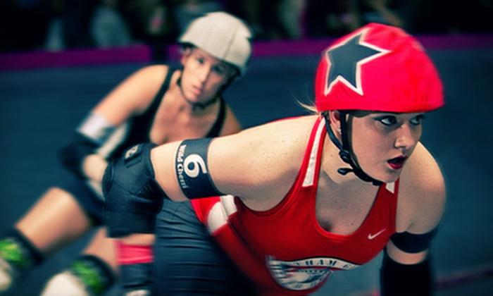 Los Angeles Derby Dolls - The Doll Factory: Last Chance: LA Derby Dolls Bout for Two with Souvenir Pint Glasses at The Doll Factory on September 7 (Up to 53% Off)
