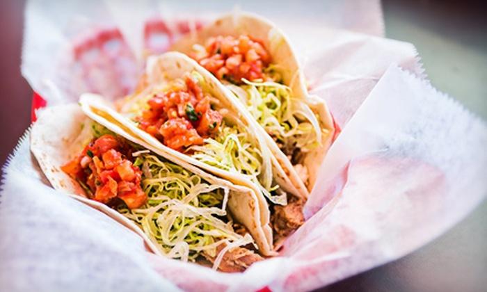 Yabo's Tacos - Upper Arlington: $7 for $15 Worth of Baja-Style Food at Yabo's Tacos