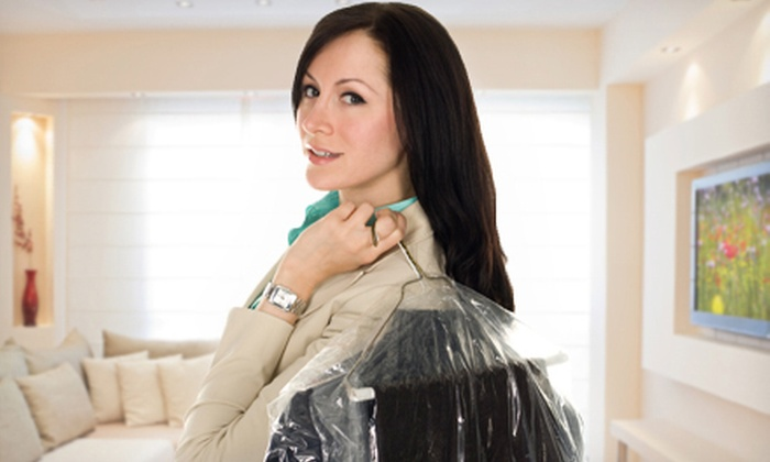 Comet Cleaners - Multiple Locations: Dry Cleaning at Comet Cleaners (Up to 63% Off). Two Options Available.