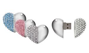 Clés USB sous forme de cœur