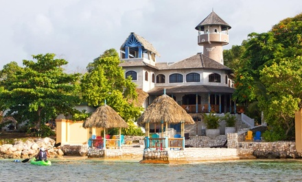groupon daily deal - 3- or 5-Night Stay for Up to Six at Hermosa Cove Villa Resort & Suites in Jamaica