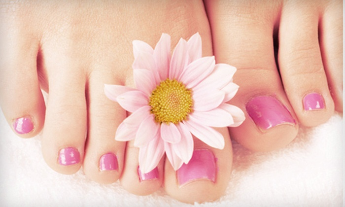 Model Nails - South Central Omaha: Bergamot Pedicure or Milk-and-Honey Pedicure at Model Nails (Up to 52% Off)
