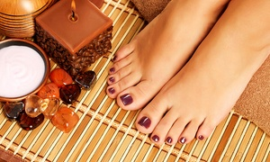 The Nail Boutique: Pedicure from R145 with Optional Gelish and Paraffin Pedicure at The Nail Boutique (Up to 65% Off)