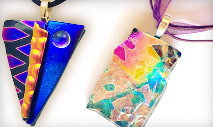 Glass Illusions Studio - Ward 2: Dichroic Fused-Glass Class for One or Two at Glass Illusions Studio (Up to 56% Off)