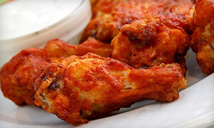Pow Pow Wings - Bagley Downs: Wings Meal for Two or $10 for $20 Worth of Food and Drink at Pow Pow Wings (Up to 51% Off)