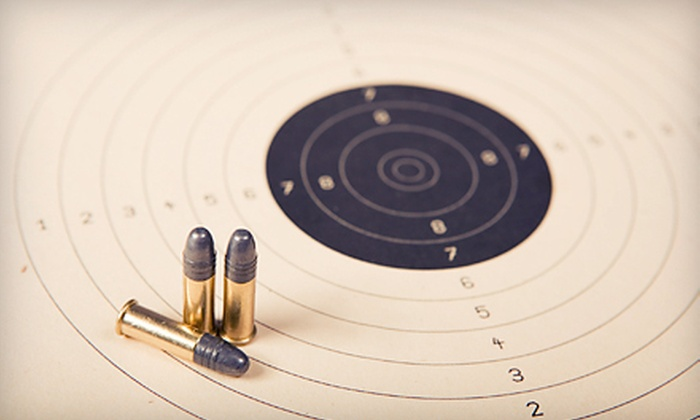 National Armory - National Armory: One Hour on Shooting Range with Equipment for Two or Four at National Armory (Up to 55% Off)