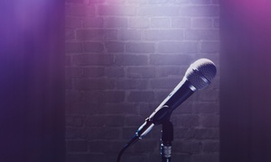 Give Me The Mic Entertainment Live Comedy Night: Give Me The Mic Entertainment Live Comedy Night at Aromas Hookah Lounge (Up to 50% Off)