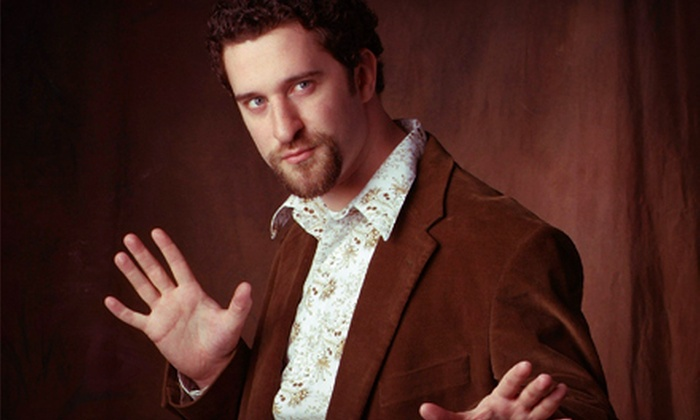 "Dustin Diamond - Old Town: Dustin Diamond, Screech from ""Saved by the Bell,"" at Old Town Theater on August 8, 9, or 10 (Up to 49% Off)"