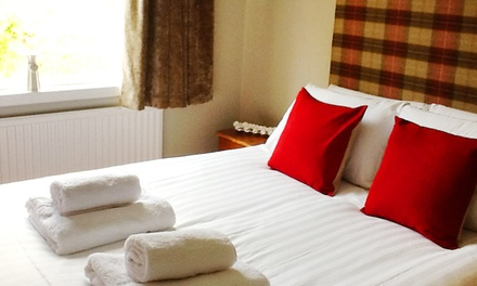 Perth and Kinross: 1 or 2 Nights for Two with Breakfast and Dinner at Red Brolly Inn