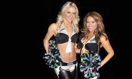 $40 for a Junior San Antonio Spurs Silver Dancers Clinic & Two Game Performances ($70 Value)