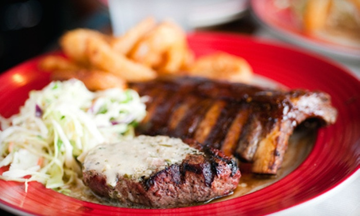 Red River BBQ & Grill - Houston: $10 Worth of Barbecue and Grilled Food