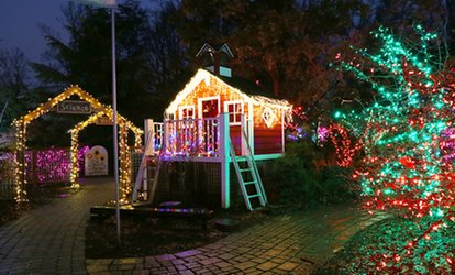 image for $20 for Admission for One Car/Van to Garden of Lights at Brookside Gardens ($30 Value)