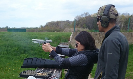 Two- or Eight-Hour Basic Pistol Course for One or Two at IL Gun Training (Up to 61% Off)