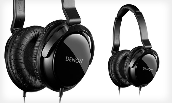 Denon Classic Headphones: $29.99 for Denon Classic Headphones in Black ($49.99 List Price). Free Shipping and Free Returns.