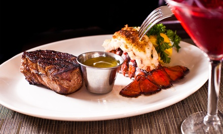 Steakhouse Dinner for Two or Four or More at Halo Steak Seafood & Wine Bar (Up to 45% Off)