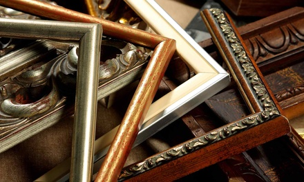 Custom Framing at Dallas Frame & Arts (Up to 60% Off). Two Options Available.