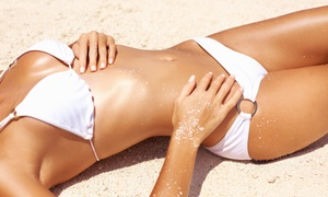 Electric Beach Tans: One Spray Tan or One Month of UV Tanning at Electric Beach Tans (Up to 58% Off)