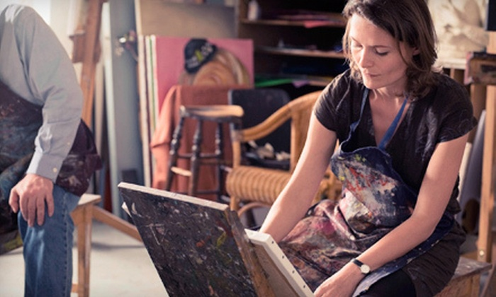 Kelly's Art & Frame - Alexandra: Three-Hour Painting Class for One or Two at Kelly's Art & Frame (Up to 58% Off)