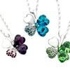 Swarovski Elements Clover Necklace