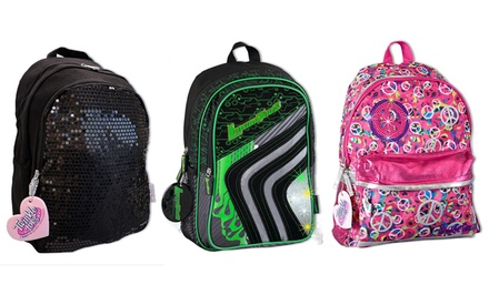 Skechers Twinkle Toes Girls and Boys Light-Up Backpacks. Multiple Styles Available.