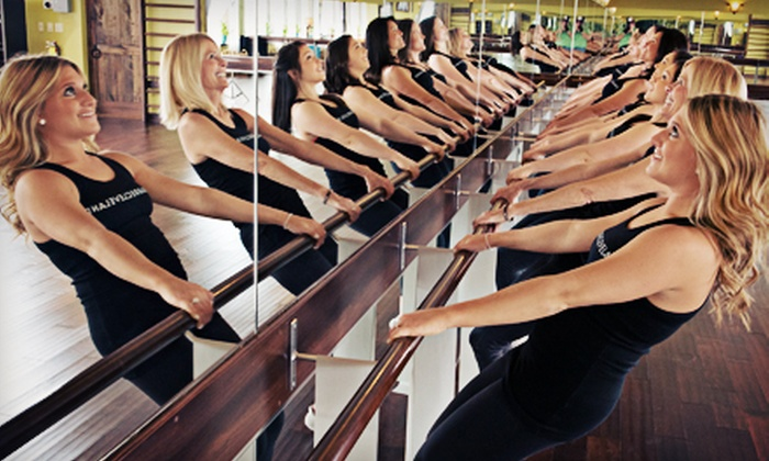 Barre Cleveland - Beachwood: $99 for One Month of Unlimited Women's Barre Fitness Classes at Barre Cleveland ($225 Value)