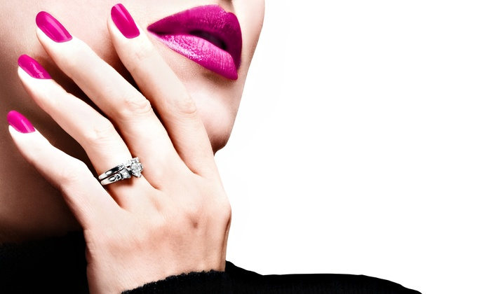Bella Nails and Wax - Doral: Mani-Pedi or One or Two Shellac Manicures at Bella Nails and Wax (Up to 57% Off)
