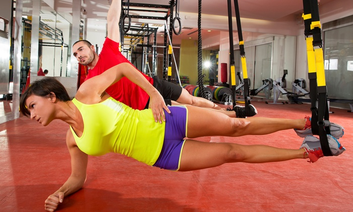 TNT Fitness - McMillan Area: Three Weeks of TRX Beginner Boot Camp or Core & Cardio Burn Boot Camp for One at TNT Fitness (47% Off)
