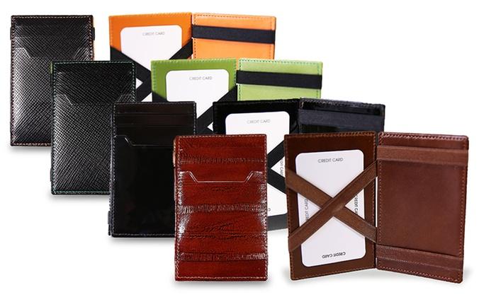 Genuine Leather Magic Wallets: Royie Genuine Leather Magic Wallets. Multiple Colours Available.