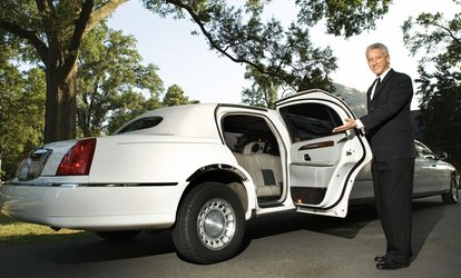 image for Four Hours of Limo <strong>Service</strong> for Eight from A Touch Of Class <strong>Limousine</strong> <strong>Services</strong> (Up to 50% Off)