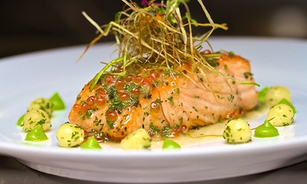 Sunday Brunch or Upscale Cuisine with Live Music for Two or Four at H.O.M.E. (Up to 46% Off)