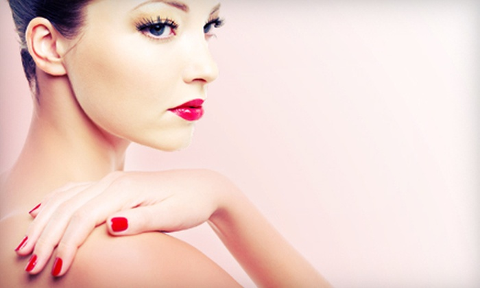 A Place In the Sun - Franklin: One or Two Shellac Manicures at A Place in the Sun (Up to 65% Off)