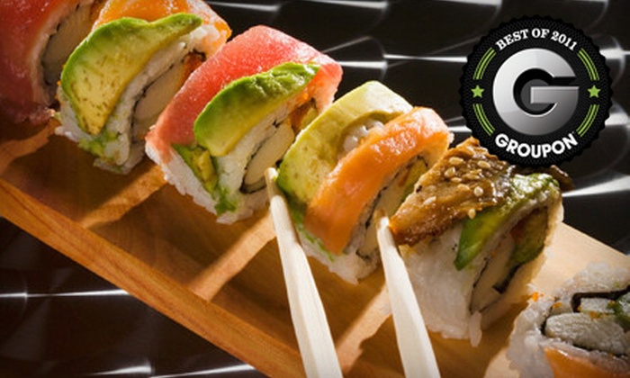 MK's Sushi - Cultural District: Sushi and Pan-Asian Fare for Dinner or Lunch at MK's Sushi (Half Off). Three Options Available.