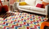 Mohawk Home Chevron Stripe Rugs: Mohawk Home Chevron Stripe 5'x8' or 8'x10' Rug from $74.99–$149.99. Multiple Designs Available.
