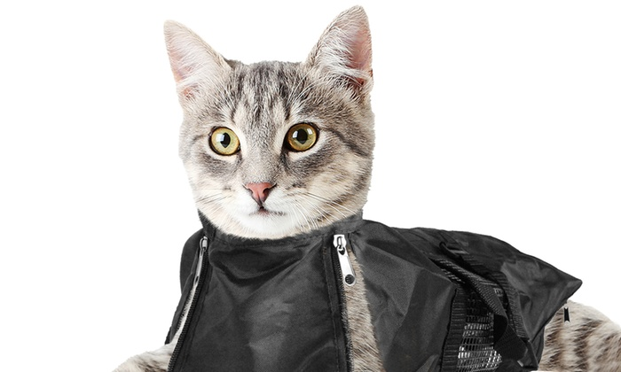 5f76fbf64e6 Up To 66% Off on Cat Grooming Restraint Bag | Groupon Goods