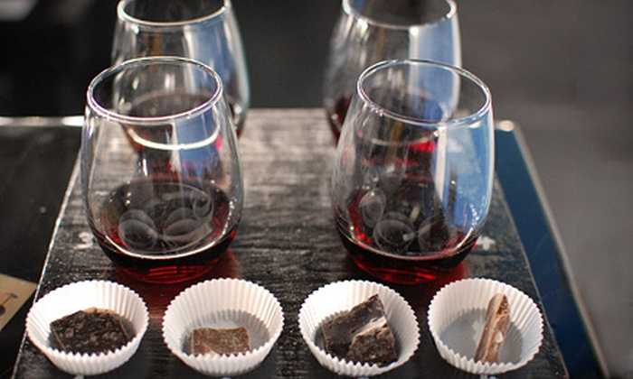 Gravity Winery - Baroda: Wine Flights Paired with Cheese and Chocolate for Two, Four, or Six at Gravity Winery in Baroda (Up to 58% Off)
