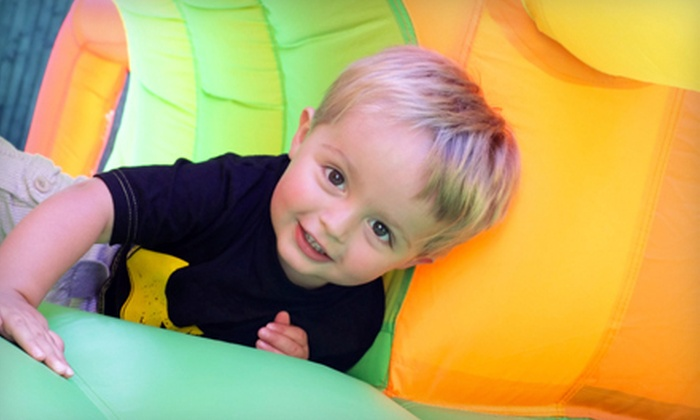 The Jungle Party House - Clovis: Indoor-Playground Visit for One Child or $8 for $17 Worth of Visits at The Jungle Party House