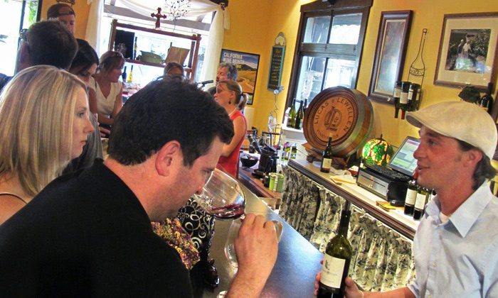 Lucas & Lewellen Vineyards and Winery - Downtown Solvang: Wine Tasting and Bottles of Wine for Two or Four at Lucas & Lewellen Vineyards and Winery (Up to 55% Off)