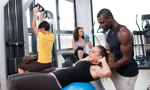 Expression Fitness: Three Personal Training Sessions with Diet and Weight-Loss Consultation from Expression Fitness (70% Off)