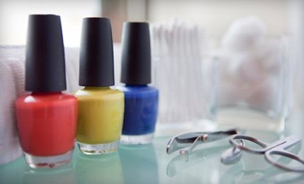 One or Two Classic Mani-Pedis at Etc. Skin & Body Salon (Up to 54% Off)