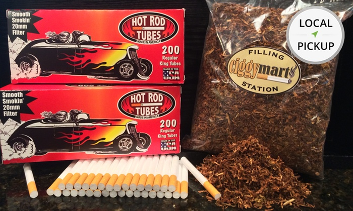 Ciggy Mart - Miami: Roll-Your-Own Cigarettes. Pick Up in Store at Ciggy Mart.