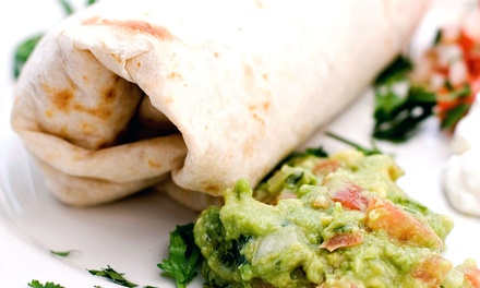 $6 for Charbroiled Chicken Burritos and Drinks for Two at Fiesta Chicken ($14.96 Value)